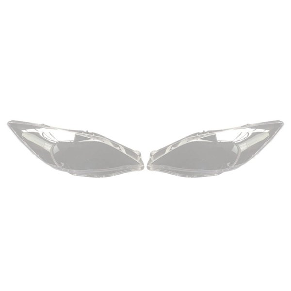 1Pair Car Front-Kopf-Licht-Lampen-Abdeckung für 3 2006-2012 Scheinwerfer-Kopf-Licht-Lampe wasserdicht freien Objektiv-Auto Shell Cover Lef