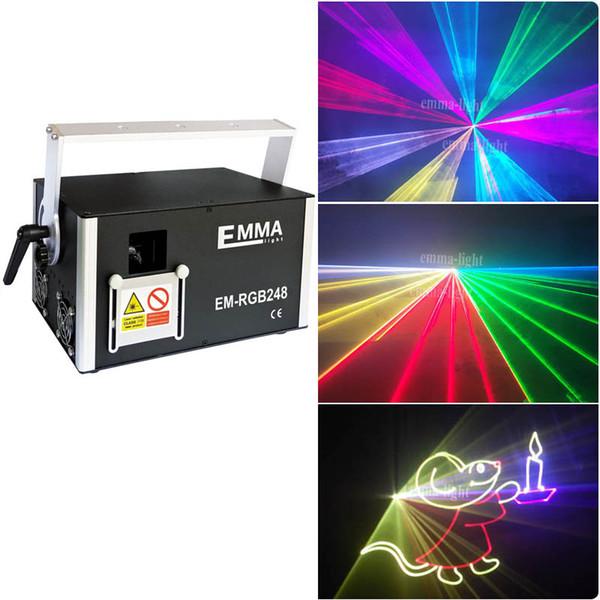 3 watt DJ Christmas RGB Laser Light 3D Laser Light Show 3000MW RGB Laser Projector With 3D Effect, 3W Dj Party Light