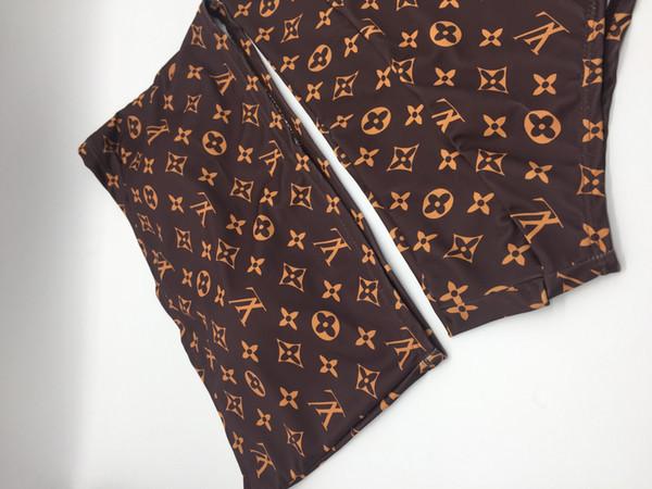 BL11 2019 Neue Mode Zweiteiliger Badeanzug Frauen Plus Size Badebekleidung Retro Vintage Badeanzüge Beachwear Print Badebekleidung S-XL