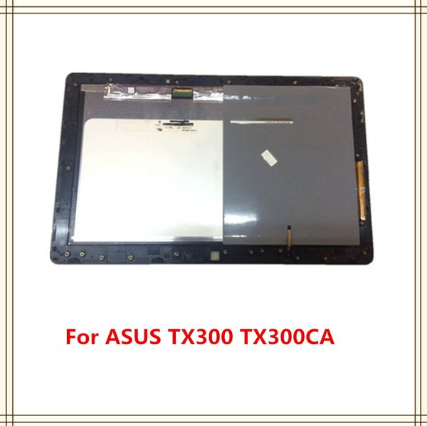 N133HSE-E21 LCD Display Panel Touch Screen Digitizer Assembly With Frame Replacement For ASUS Transformer Book TX300 TX300CA