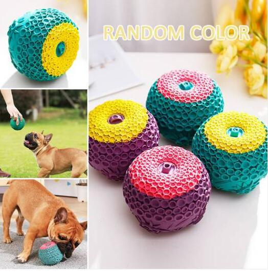 2019 gummi molar tfree versand großhandel pet hund ball gummi molar spielzeug hund kauen spielzeug hunde spielen spielzeug wasserspeicher ball