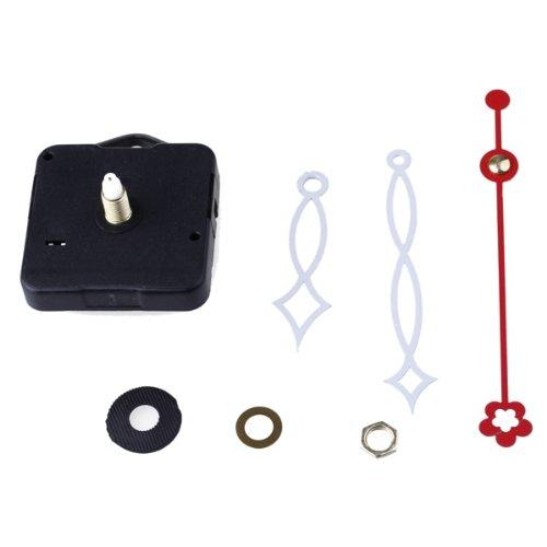 YCYS-Clock Movement Mechanism with White Hour Minute Red Second Hand DIY Tools Set
