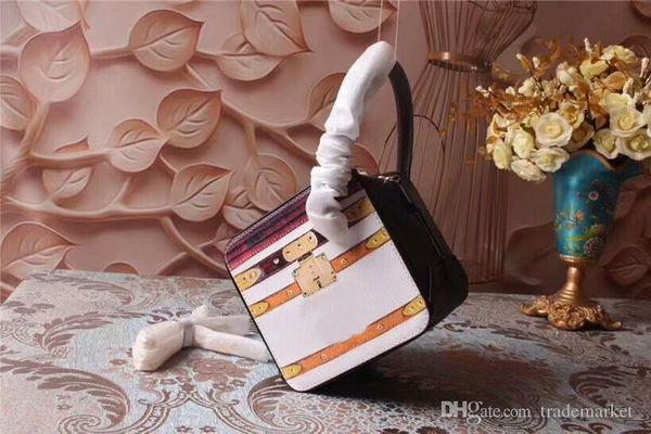 2019 Novas mulheres bolsas de grife venda quente genuíno couro top excelente saco de ombro mensageiro sacolas M52350