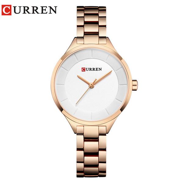 Concise Pequeno Relógio de Quartzo Mulher Superfície Traga Assuntos de Negócios Tempo de Lazer Relógio de Pulso das mulheres de moda relógios casuais automáticas master