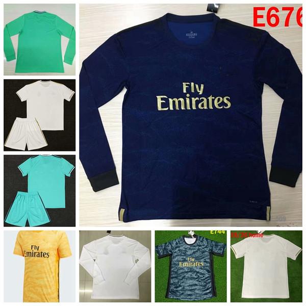 Real Madrids galactico Los Merengues Kurzarmtrikots Fußballshirt Training Maillot Fußballtrikots Maillot de Foot