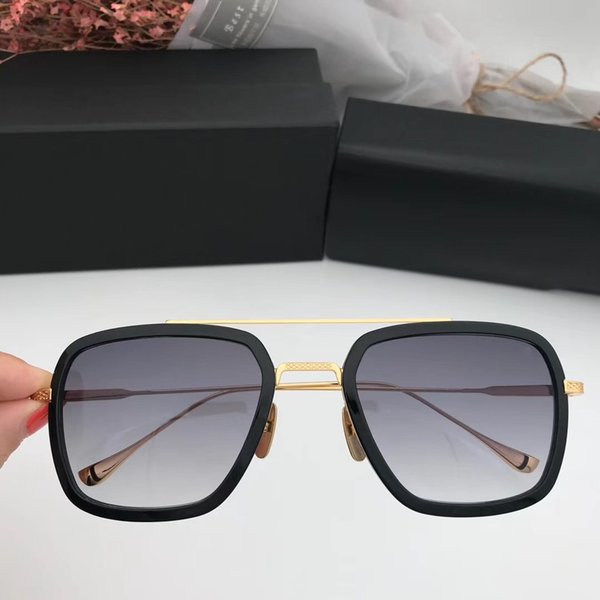 black gold with grey lens