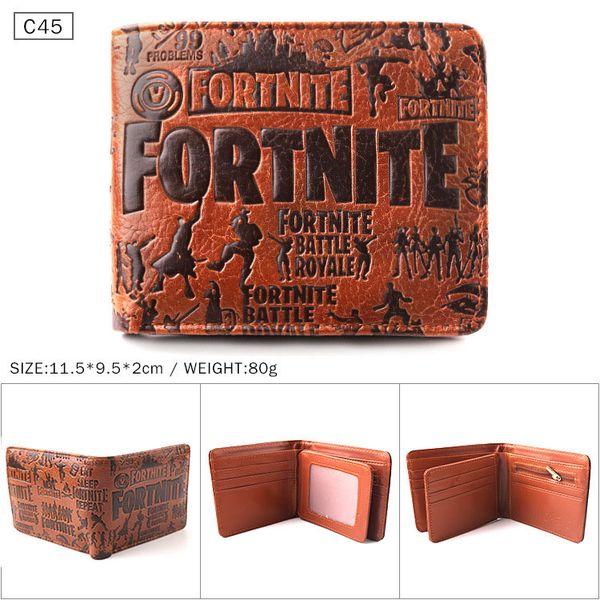 Fortnite Game Kids Boys Coins Money Wallet Mens Purse Bag Birthday Present Gift