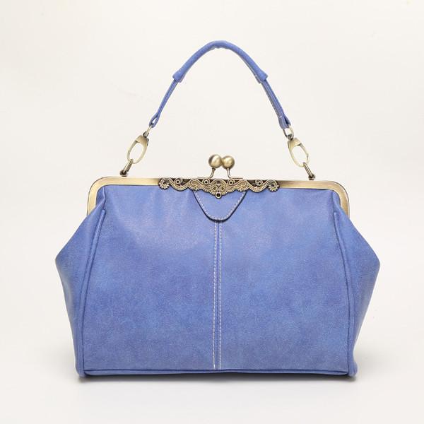 2019 yeni kadın çantası çanta omuz çapraz kadın çantası buzlu deri klip messenger çanta