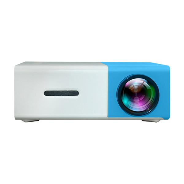 Nouveau Projecteur Portable LED YG300 400-600LM 3.5mm Audio 320x240 Pixels YG-300 HDMI USB Mini Projecteur Home Media Player
