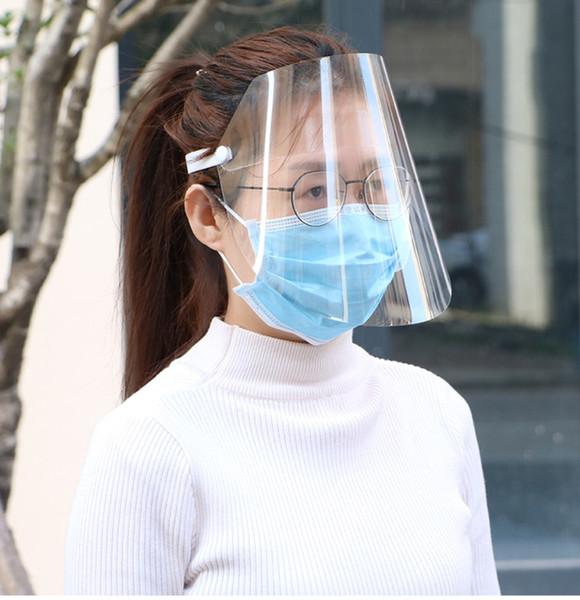 best selling Spot! Anti-dust transparent mask, adjustable size, Anti Dust Respirator, HD transparent full face mask.