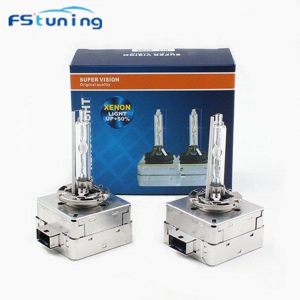 FStuning HID Xenon Bulb D1S 35W 4300K 6000K 8000K Auto Car xenon farol kit Para A3 A4L A6 faróis HID D1S lâmpadas