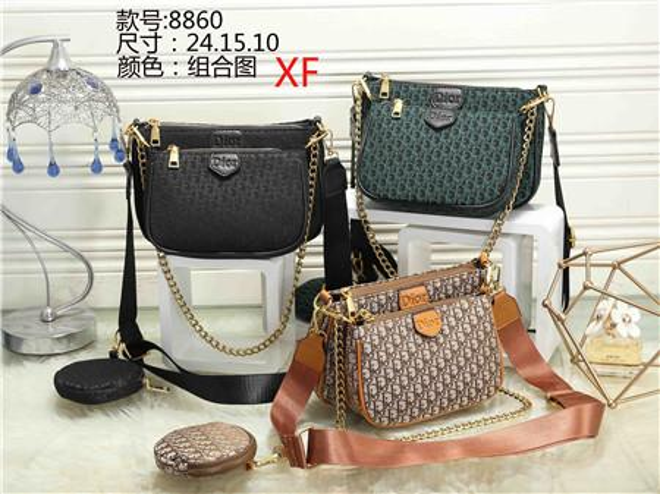 Hot Sell Newest Style Women Messenger Bag Totes bags Lady Composite Bag Shoulder Handbag Bags Pures #8860