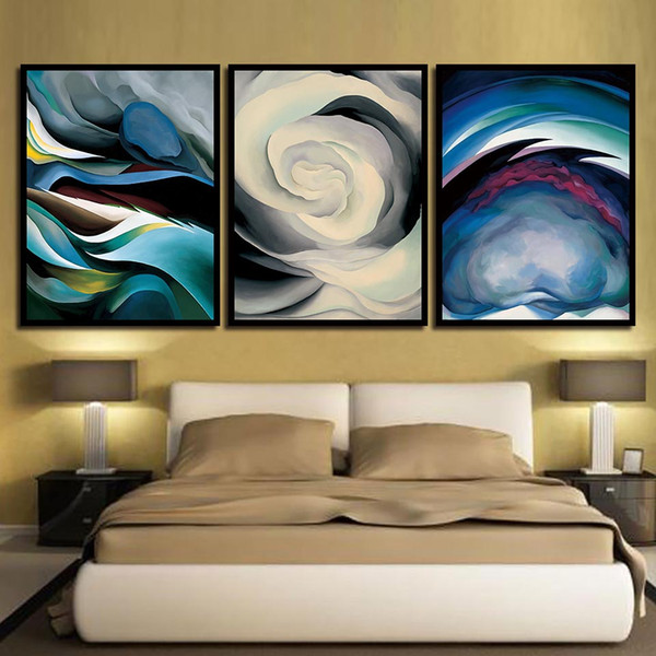 Nordic Style Landscape Line Canvas Painting HD Prints Living Room Home Decoration Wall Art Modular Pictures Poster Spray Painting