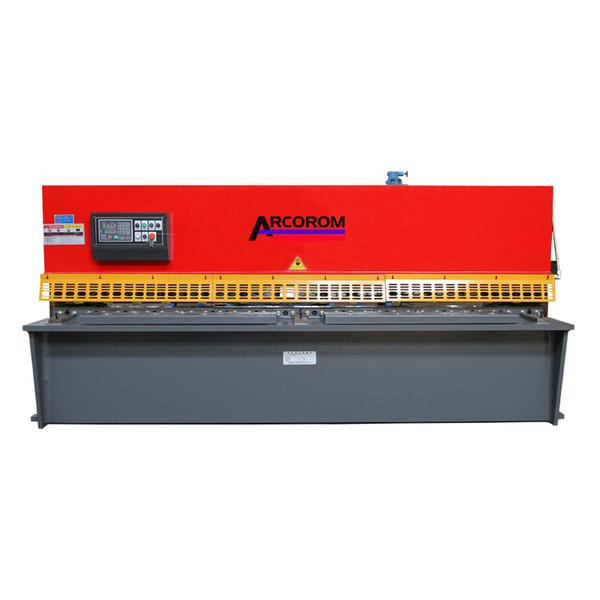 2019 QC12Y 10x3200 Hydraulic Shearing Machine Factory Direct Sale/Qc12y NC  Hydraulic Plate Shears/10*3200 Sheet Metal Cutting Machine From Arcorom,