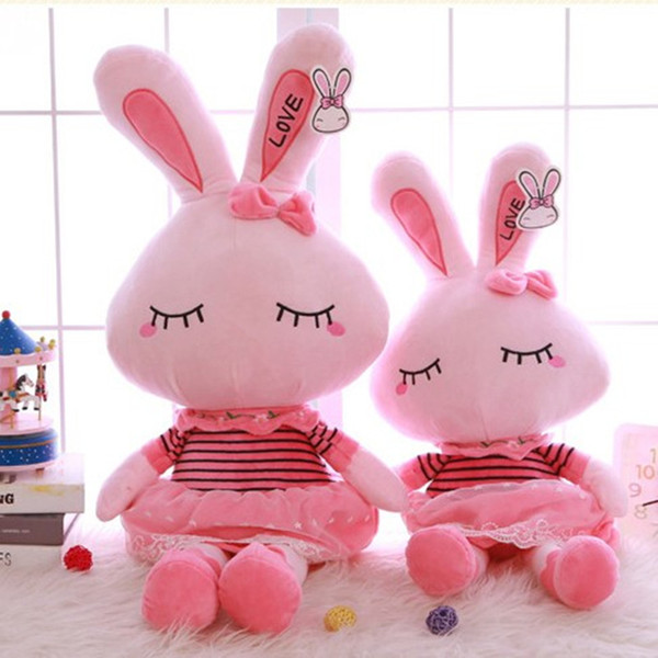 Plush Doce Bonito Lindo Recheado Bebê Crianças Brinquedos para Meninas Presente de Natal Aniversário Tiramitu Coelhos Mini Metoo Boneca