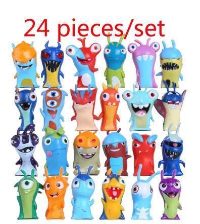 24 random pieces