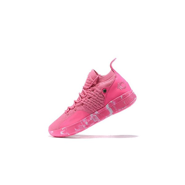 Cheap mens kd 11 basketball shoes kds Aunt Pearl Pink Red Triple Black Easter Yellow kd11 kevin durant xi sneakers tennis with box size 7 12