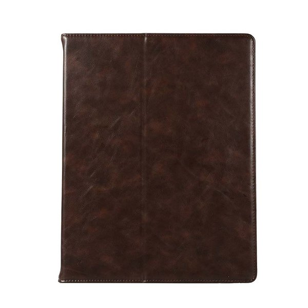 Classic Half Genuine Leather Tablet Case For ipad pro 10.5 11 12.9 With Built-in Pen Slot Stand Dormancy Case Cover