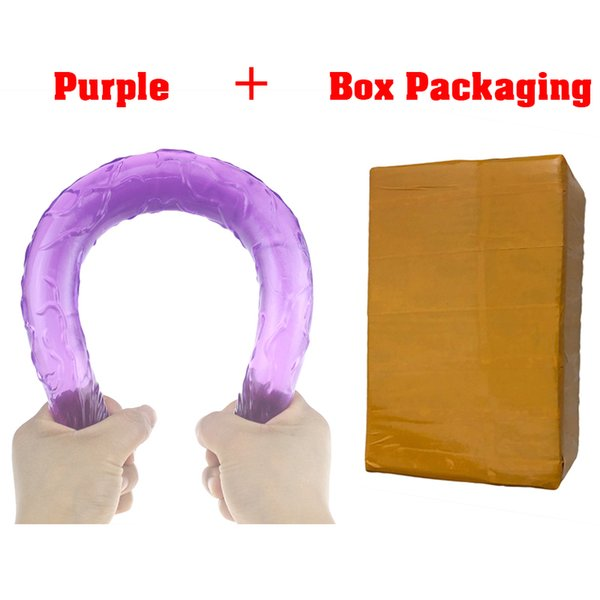 purple box package