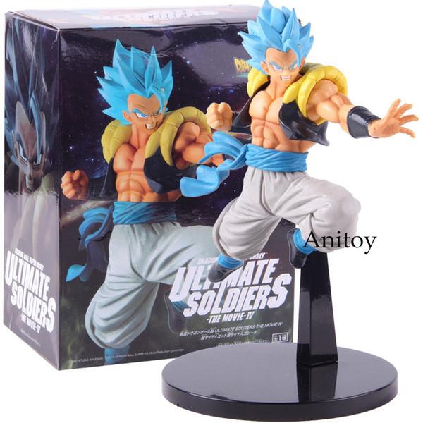 Acheter Dragon Ball Super Broly Ultimate Soldats Super Saiyan Dieu Bleu Gogeta Figure Pvc Dragonball Gogeta Collection Modèle Jouet De 21 61 Du