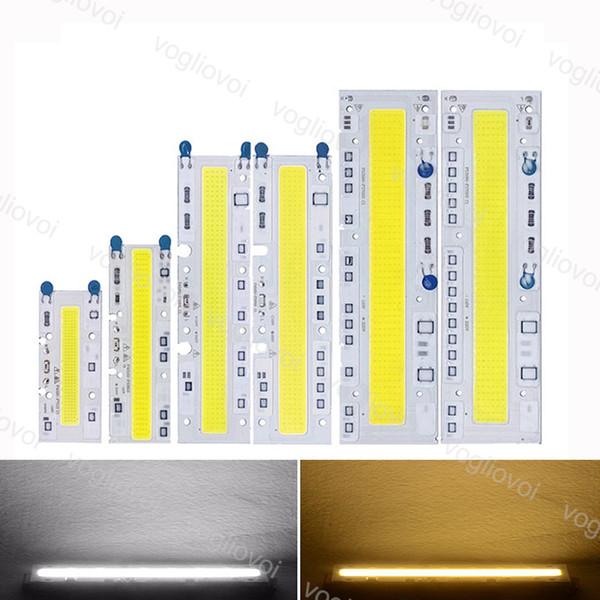 Perle di luce Led ad alta potenza Cob Chip 220V / 110V 30W 50W 70W 100W 150W LED proiettore integrato intelligente IC driver raffreddare EUB bianco