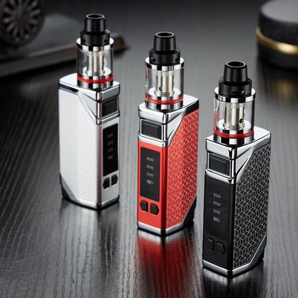 Bigbox Vape Pen 2200mAh sigarette ecig e mod Vape rimovibili Potere regolabile 30W 60W 80W Erbe Vaporizzatore eCigs Kit