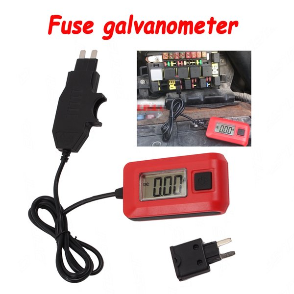 12V 23A Vehicle Auto Car Current Tester by Fuse Galvanometer Diagnostic Tool