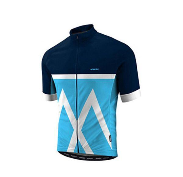 2019 squadra ciclistica / bicicletta da corsa Abbigliamento uomo secco asciutto Anti_UV maglia ciclismo abbigliamento ciclismo hombre maglia manica corta