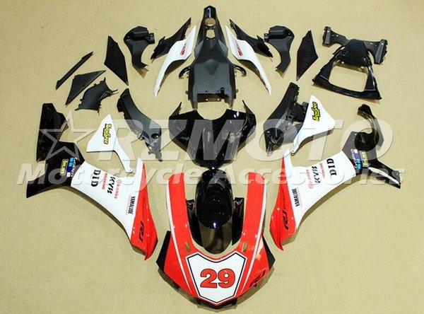 New Injection Mold ABS motorcycle fairings fit for YAMAHA YZF-R1 2015 2016 YZF R1 15 16 YZF1000 fairing kits custom red white 29