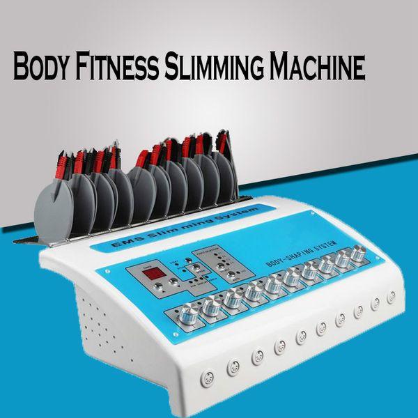 Nouveau Physiothérapie Machines de perte de poids Machines de stimulation électrique des muscles Machines de perte de poids Electro Body Fitness Minceur Machine