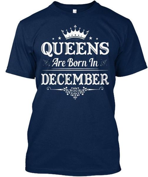 Le regine nascono a dicembre. T-shirt unisex standard Uk