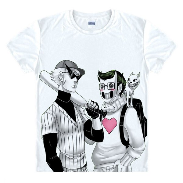 OFF Game Zacharie T Shirt Mask Men Tshirt Take Batter Ghost cotton baseball T-shirt Men's Cloth cosplay costume Brother TEE