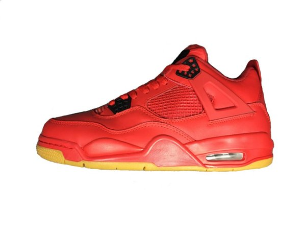 4 single day shoe red Singles Day basketball shoes new arrival 2018 sport shoes man trainers with box