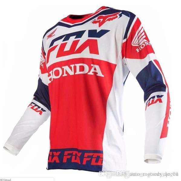 best selling 2019 American TLD Cycling Jersey Long Sleeve Top Men Summer Mountain Bike Cross Country Motorcycle Clothing