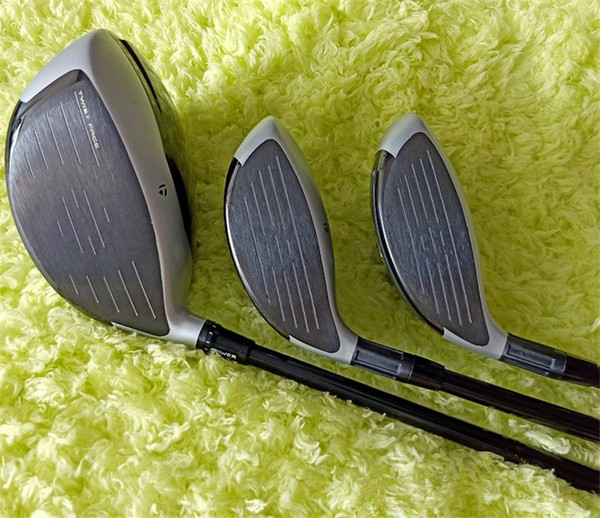 12pc golf full et golf club driver fairway wood iron putter graphite haft with head cover no bag