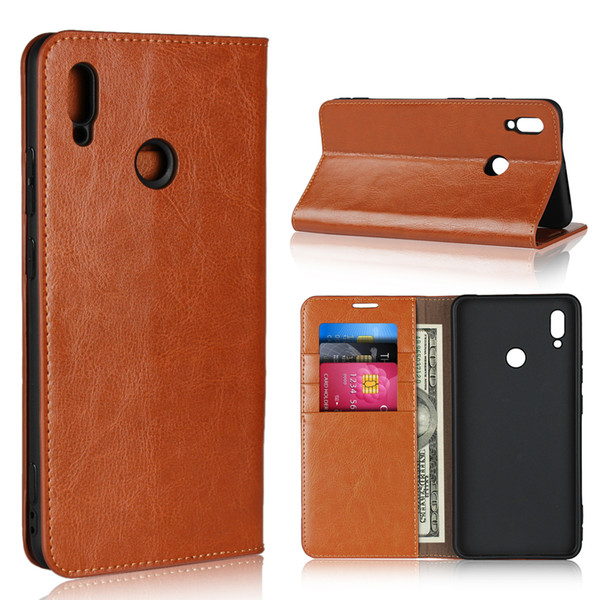 Genuine Leather Cover Flip Case For Huawei Honor Note 10 Carcasas Wallet Leather Cover Casing Honor Note10 Mobile Phone Cases