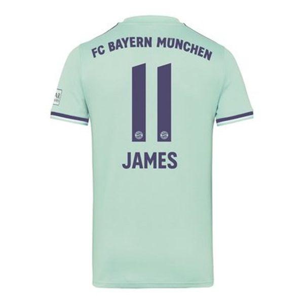 Camiseta de fútbol de primera calidad JAMES RODRIGUEZ del Bayern 2018 2019 LEWANDOWSKI MULLER KIMMICH camiseta de bayern para hombre Camisetas de fútbol Stock