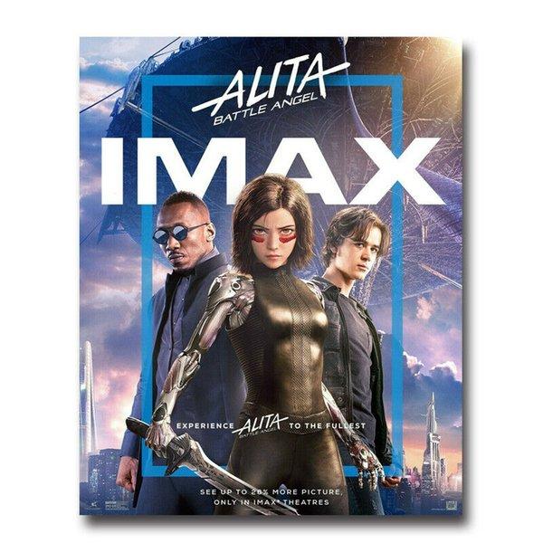 HOT Poster Alita Battle Angel Movie Fight Girl 2019 wall decor Art Silk Print Poster 91598