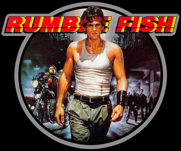 80's Coppola Classic Rumble Fish Poster Art custom tee Any Size Any Color Brand shirts jeans Print