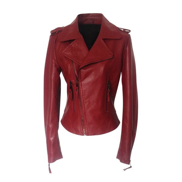 2019 2019 Style Clothes Woman Short Spring Winter Season Pu Skin Small Loose Coat Women Leather Jacket Motorcycle Clothing From Charle 43 52