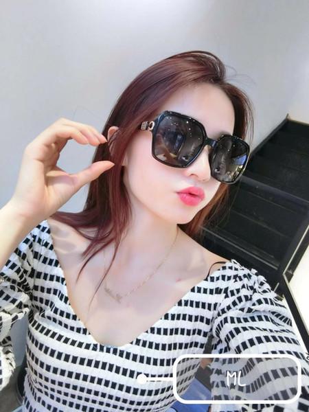 gucci gg9907 cat eye rosa óculos de sol para homens e mulheres shades espelho quadrado óculos de sol uv 400 moda marca óculos de sol