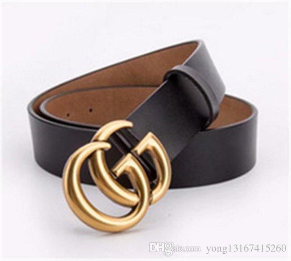 New de igner belt ladie de ign farrago belt buckle brand for bu ine ladie luxury leather belt, Black;brown