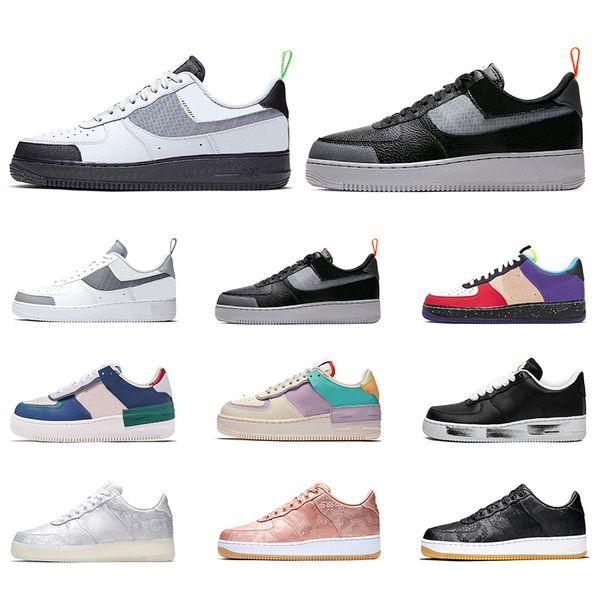 best selling Designer Skateboard Shoes Men Women Platform Sneakers CLOT Pale Ivory noise Under Construction What The LA Mens Trainer Casual Sports 36-45