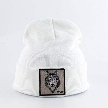 волк белый