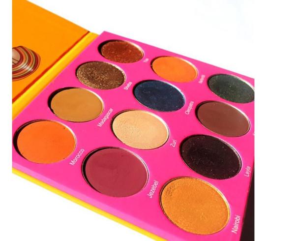 Макияж палитра теней для век 12 цвет палитра теней для век maquillage бренд макияж палитра теней для век