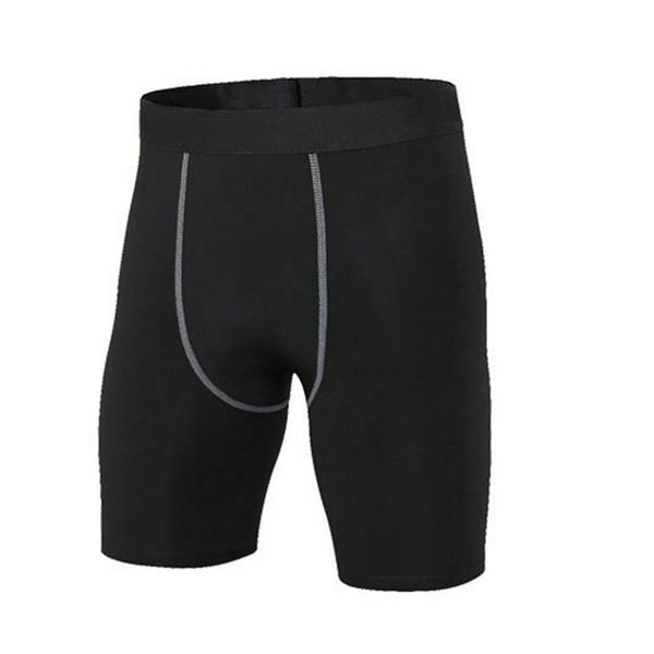 Hommes Casual Patchwork Taille Élastique Court Exercice Été Fitness Pantalon Noir, Gris, Blanc