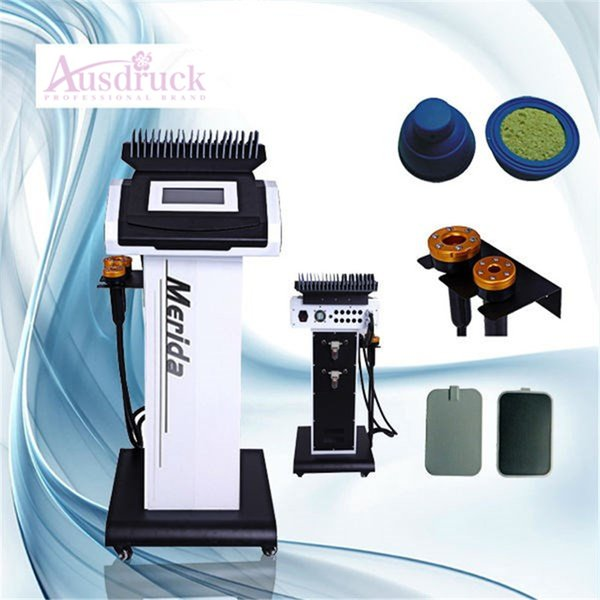 Estimulador de músculo EMS portátil livre de impostos da UE / Electro estimulação muscular Microcorrente Bio emagrecimento máquina