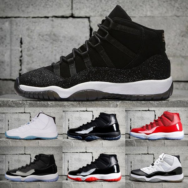 Cheap New 11S White Black Dark ConcordS 11 Sports Shoe 11's Concord Basketball Shoes Men Athletics Sneaker Retro free shipping