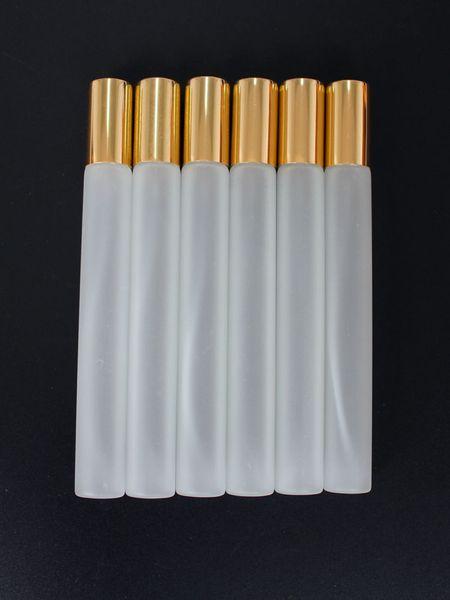 Bouteille de jet de verre givré de 20ml atomiseur rechargeable de parfum fioles de parfum de verre minces bouteilles d'échantillonnage de l'échantillon 20cc