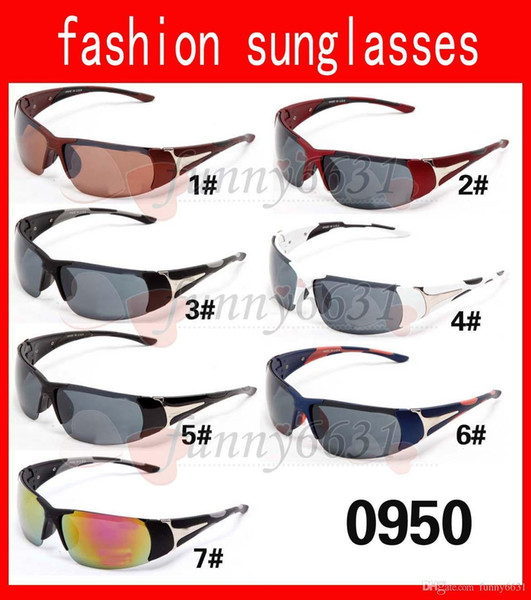 MOQ=10PCS cheap price summer man Bicycle Glass Mens outdoor sport Sunglasses woman driving sunglasses wind glasses 18colors free shipping